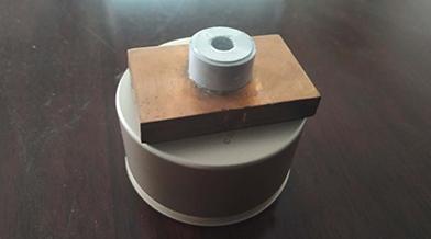 电动汽车动力电池铜铝连接装置